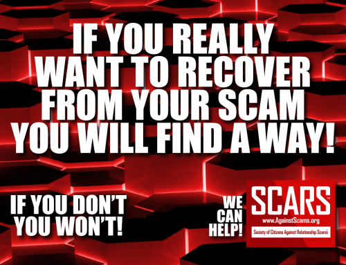 If You Really Want – SCARS|RSN™ Anti-Scam Poster
