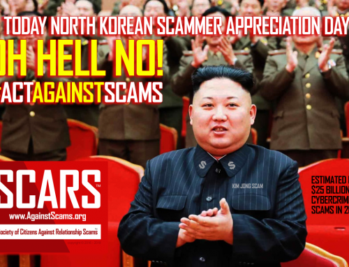 Oh Hell No! – SCARS|RSN™ Anti-Scam Poster