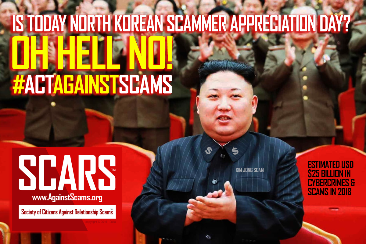 Oh Hell No! - SCARS™ Anti-Scam Poster 1