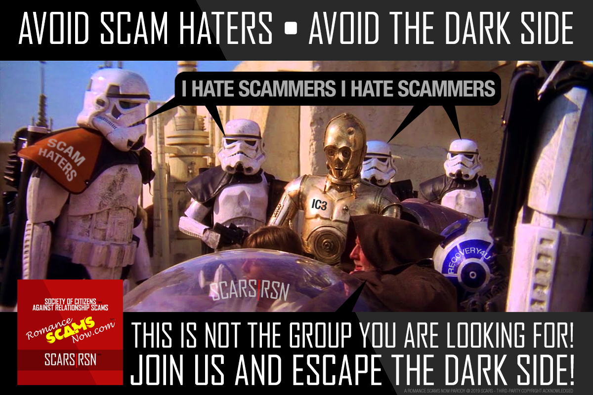 Avoid Scam Haters - SCARS|RSN™ Anti-Scam Poster 6