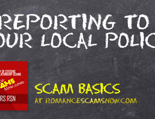 SCARS|RSN™ Scam Basics: Reporting To The Local Police