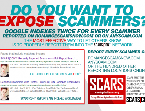 Effective Reporting In SCARS|CDN™ – SCARS™ Anti-Scam Poster