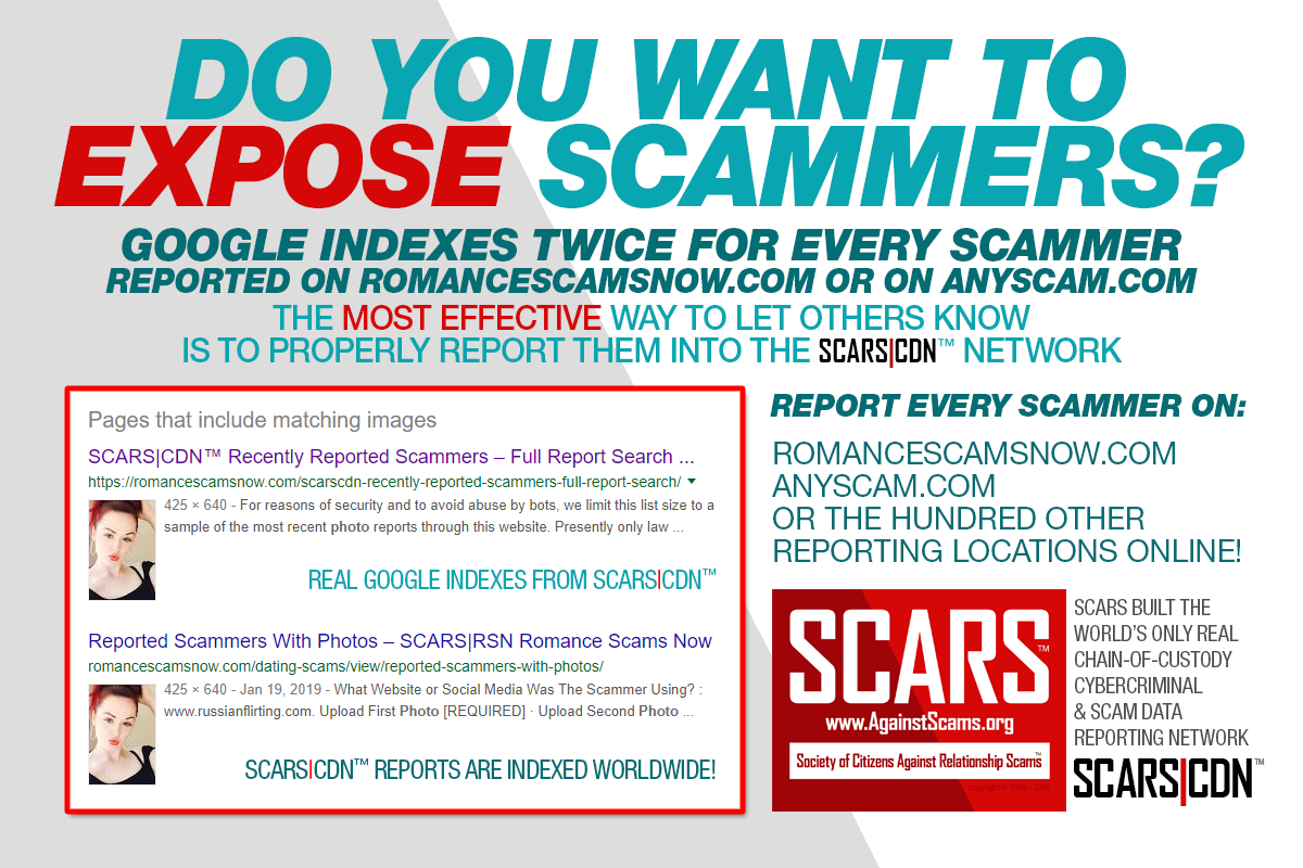 Effective Reporting In SCARS|CDN™ - SCARS|RSN™ Anti-Scam Poster 3