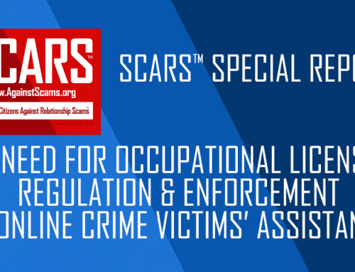 SCARS™ Special Report: Anti-Scam Quackery & The Need For Professionalism