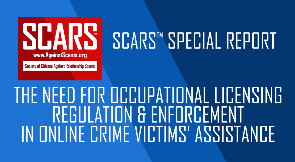 SCARS™ Special Report: Anti-Scam Quackery & The Need For Professionalism 1