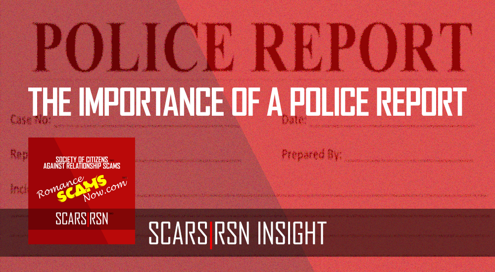 SCARS|RSN™ Insight: The Importance of the Police Report 1
