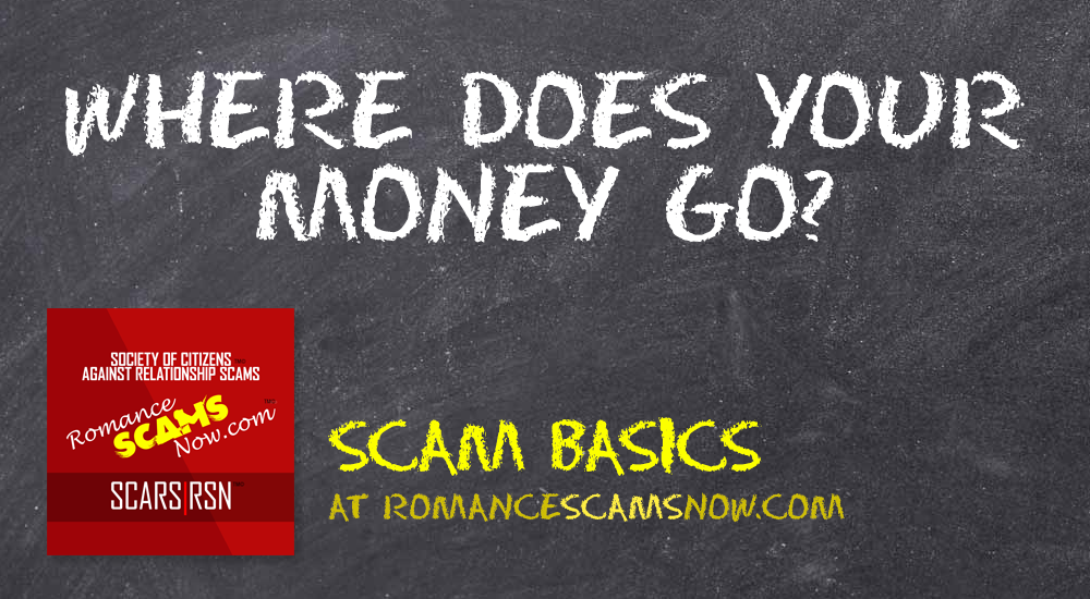 SCARS|RSN™ Scam Basics: Where Does Your Money Go? 1