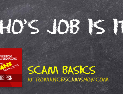 SCARS|RSN™ Scam Basics: Who's Job Is It?