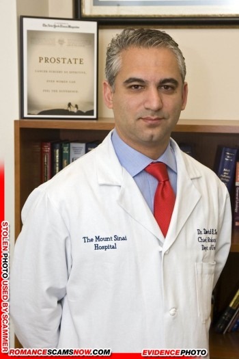 Dr. David B. Samadi: Do You Know Him? Another Stolen Face / Stolen Identity 19