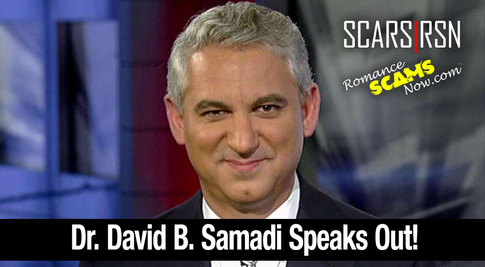 SCARS|RSN™ Impersonation Victim: Dr. David B. Samadi, M.D. Speaks Out 1