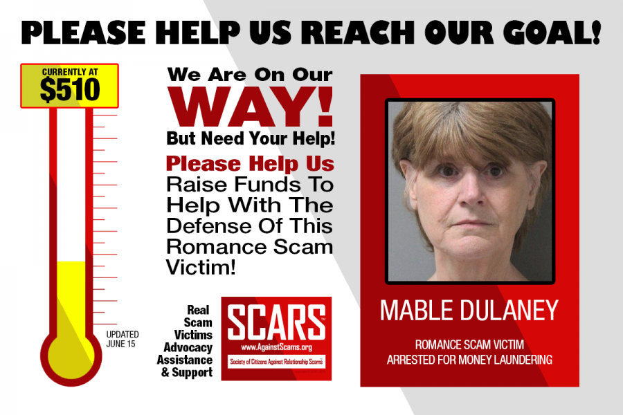 SCARS|RSN™ ADVOCACY: Help Us Defend A 63 Year Old Elderly Scam Victim From Spending The Rest Of Her Life In Prison! [UPDATED June 15] 2