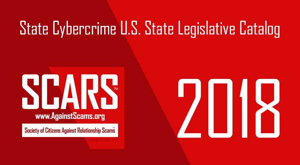 State of Local Cybercrime / Internet Crime Laws & Legislation in the United States 20