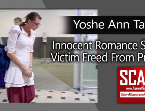 SCARS|RSN™ Real Victims' Advocacy: Australian Romance Scam Victim Yoshe Taylor Freed From Cambodian Prison!
