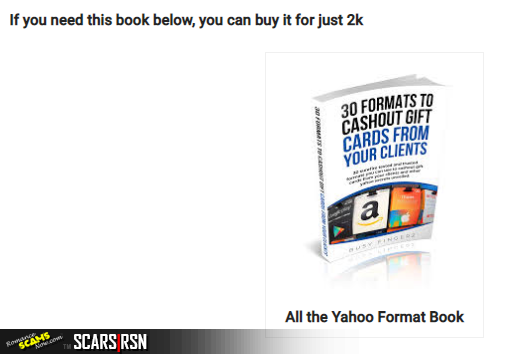 Amazon Kindle Format Yahoo Boys Training Guide - Just $2,000