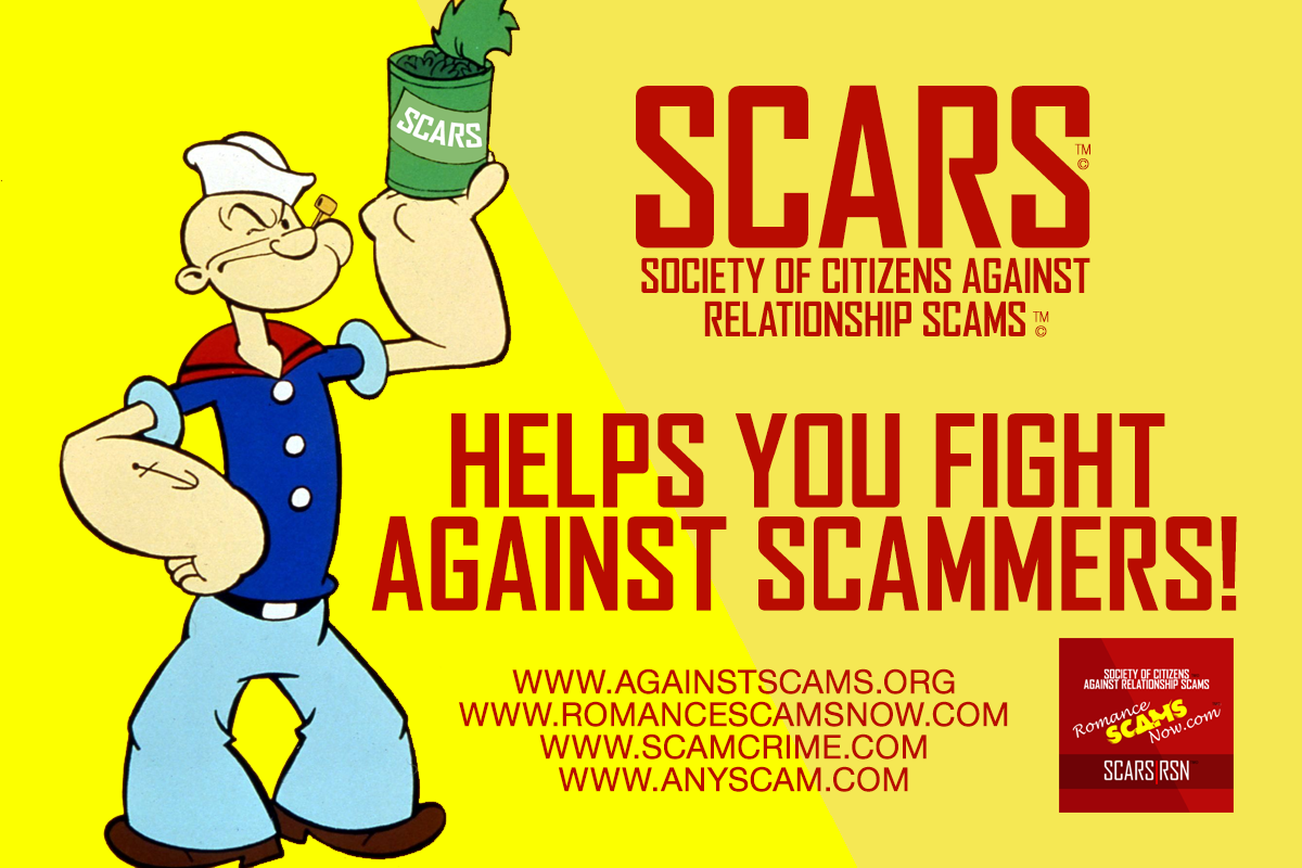 SCARS Helps You Fight Against Scams & Scammers - SCARS™ Anti-Scam Poster 3