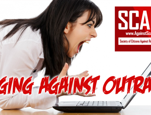 SCARS|RSN™ Editorial: Are We Not All Tired Of The Outrage!?