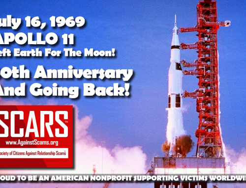 Apollo 11 Lift Off – SCARS|RSN™ Anti-Scam Poster