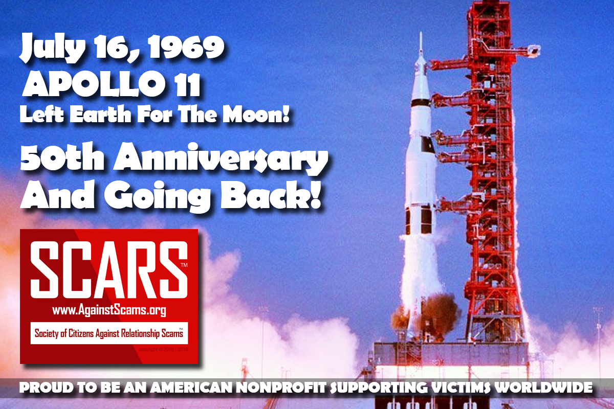 Apollo 11 Lift Off - SCARS|RSN™ Anti-Scam Poster 1
