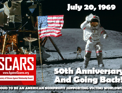 Apollo 11 Lands On The Moon – SCARS|RSN™ Anti-Scam Poster