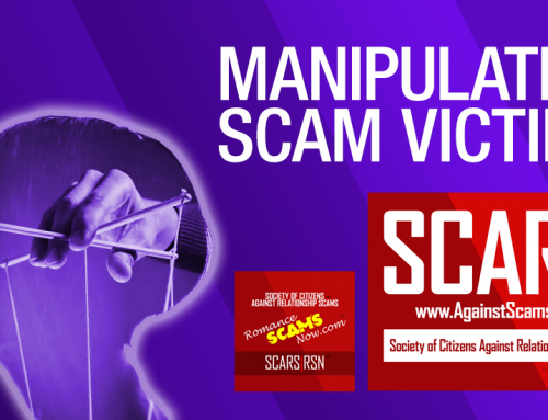 SCARS|RSN™ Insight: Internet Romance Scammers Know What Their Victims Are Longing To Hear