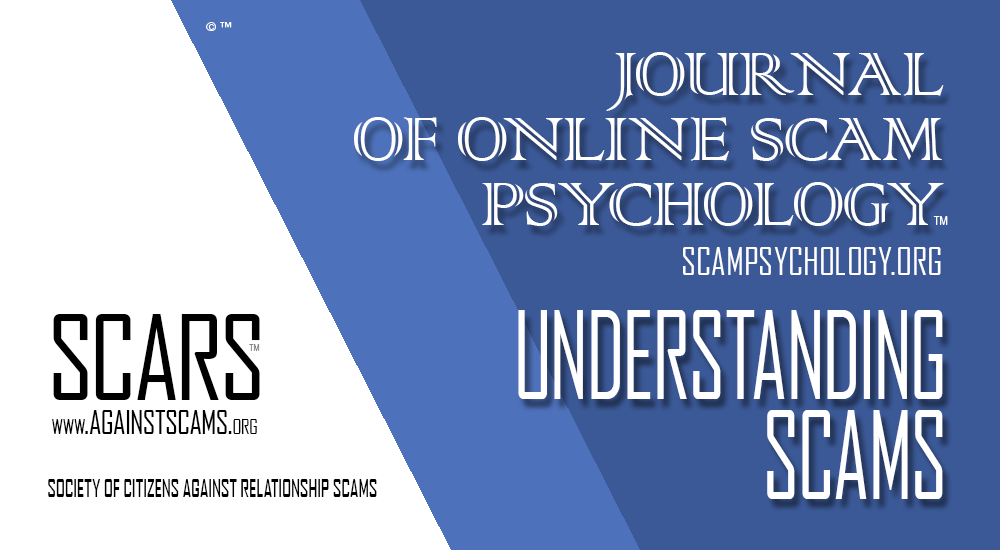 SCARS|RSN™ Scam Criminology: Research Paper-Report - Predicting Online Fraud Victimisation In Australia 1