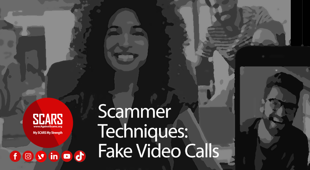 Scammer Techniques: Fake Video Calls