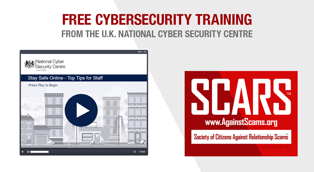 SCARS|RSN™ Cybersecurity: U.K. National Cyber Security Centre Training 19