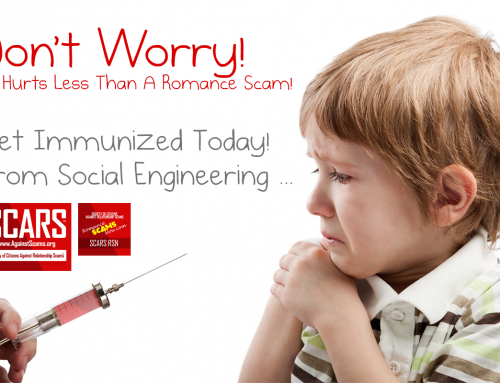 Don't Worry – SCARS|RSN™ Anti-Scam Poster