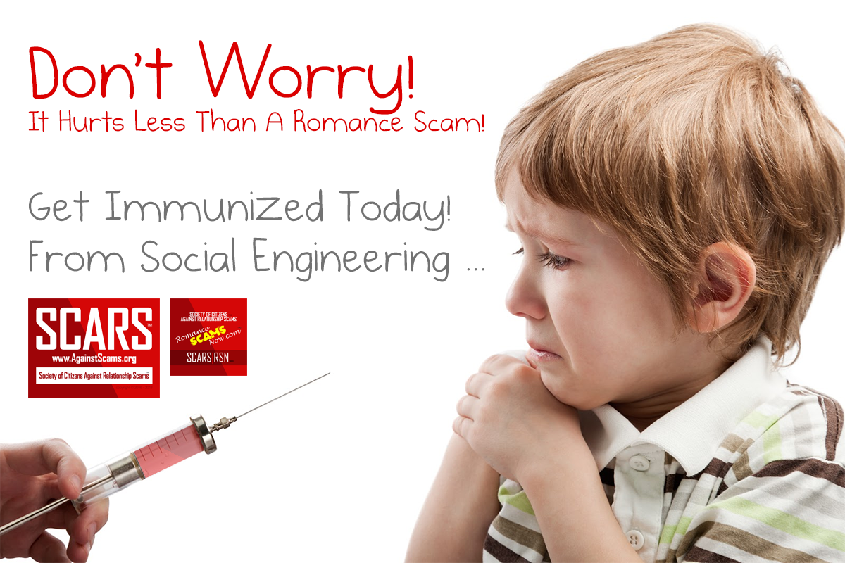 Don't Worry - SCARS|RSN™ Anti-Scam Poster 6