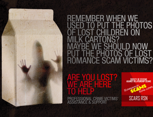 Lost Victims – SCARS|RSN™ Anti-Scam Poster