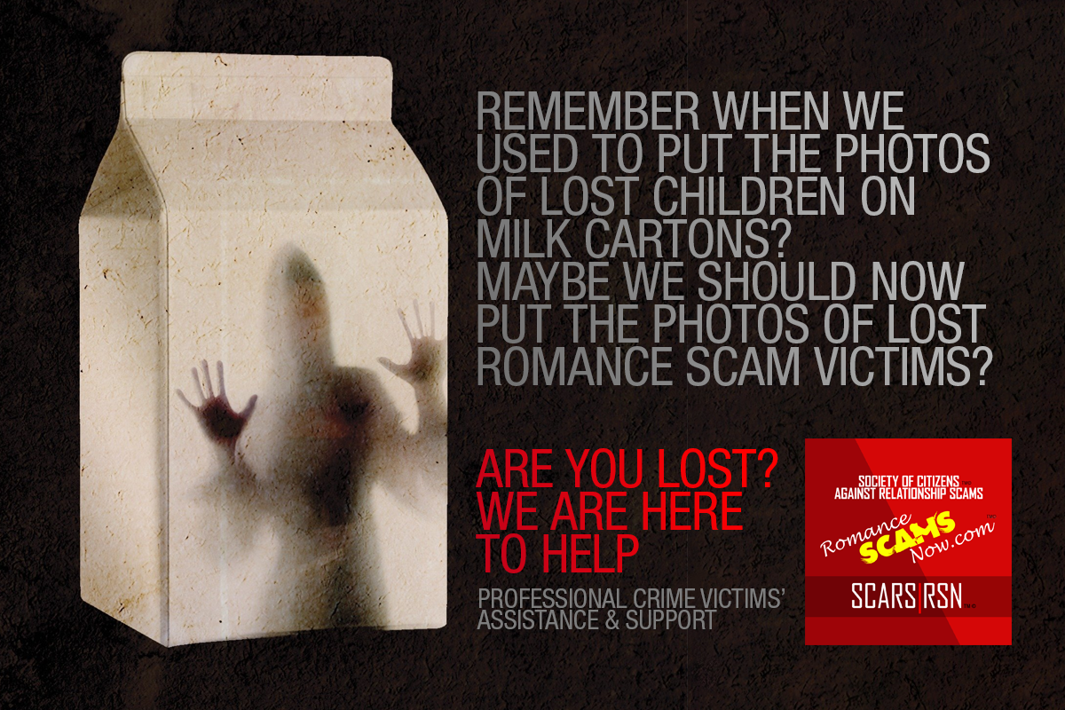 Lost Victims - SCARS|RSN™ Anti-Scam Poster 11