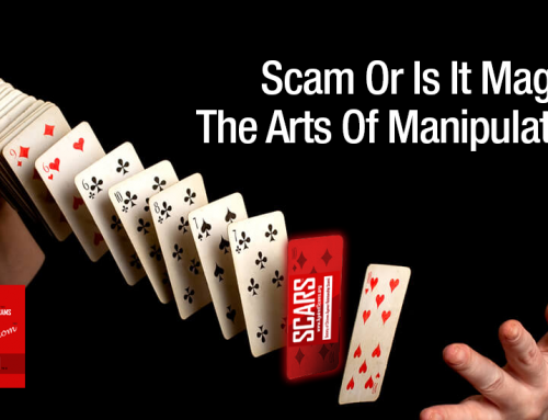 SCARS|RSN™ Psychology Of Scams: Equivocation – The Magician's Choice – The Arts Of Manipulation