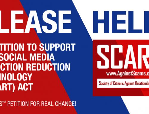 SCARS™ REGULATORY ALERT: U.S. Senator goes after Socially Engineered Web Addictions