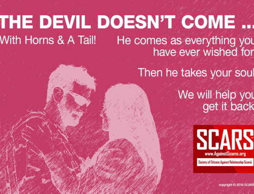 The Devil – SCARS™ Anti-Scam Poster