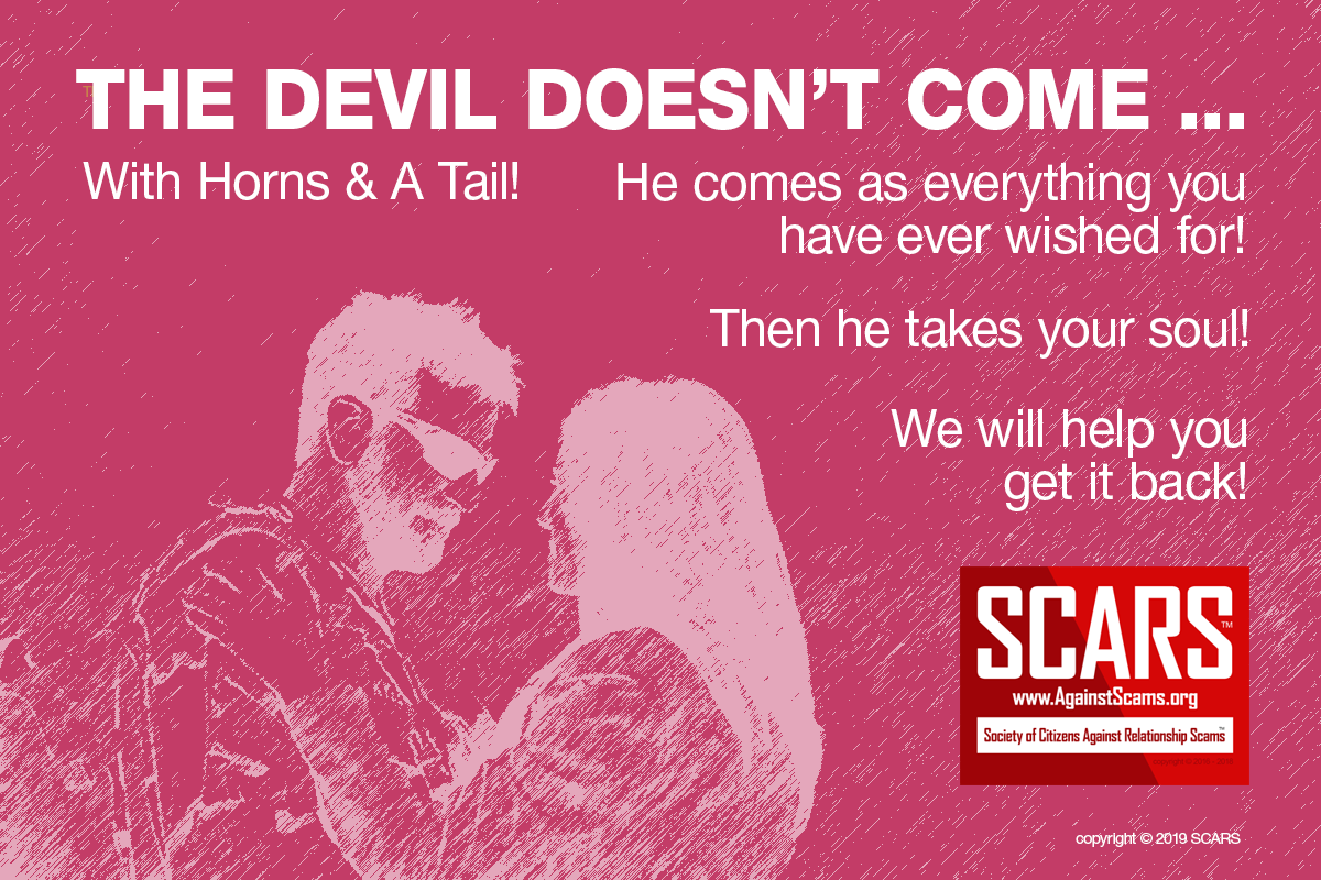 The Devil - SCARS™ Anti-Scam Poster 2