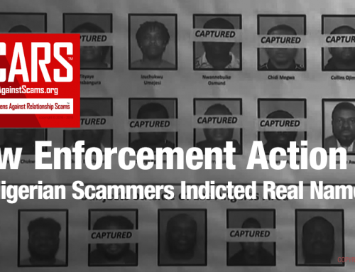 SCARS|RSN™ Law Enforcement Action: 80 Nigerian Scammers Indicted – Actual Names Of Defendants