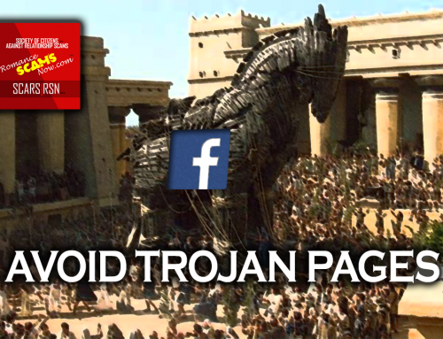 Avoid Trojan Pages – SCARS™ Anti-Scam Poster