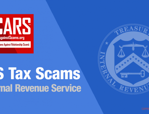 SCARS|EDUCATION™ Scam Alert: Tax Identity Thieves And IRS Imposters Are Ready For Tax Season