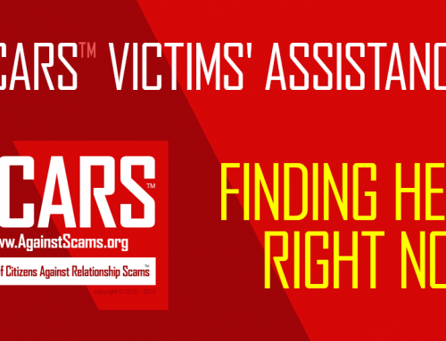 SCARS|RSN™ Victims' Assistance: Finding Help! Right Now!
