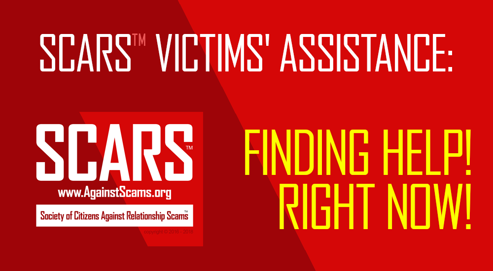 SCARS|RSN™ Victims' Assistance: Finding Help! Right Now! 4