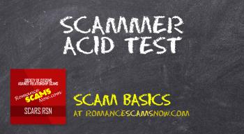 Scammer-Acid-Test