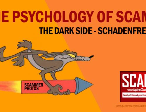SCARS|RSN™ Psychology of Scams: The Dark Side –Schadenfreude