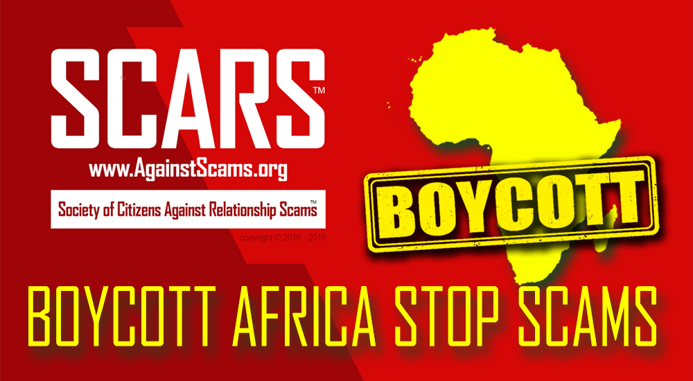 Boycott Africa Stop scams