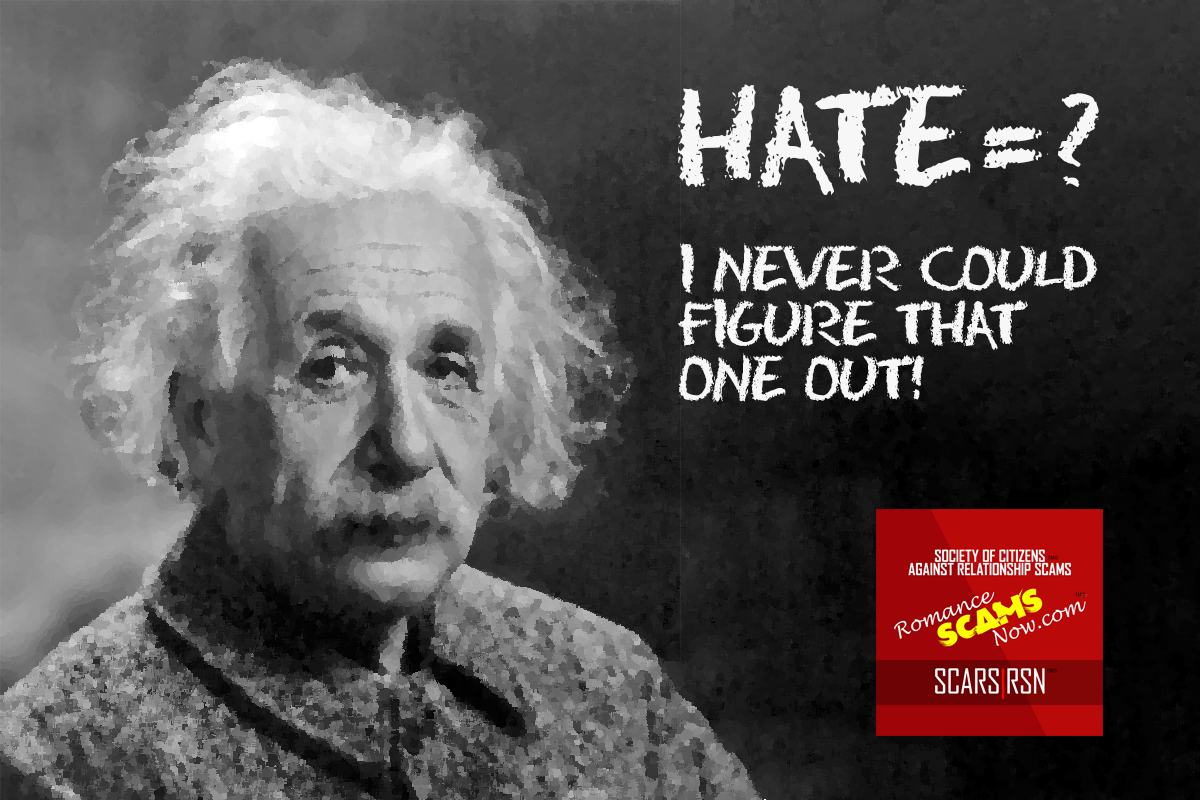 Hate = ? - SCARS|RSN™ Anti-Scam Poster 7