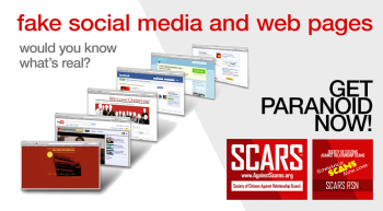 SCARS|RSN™ Special Report: Fake Pages – Trojan Pages
