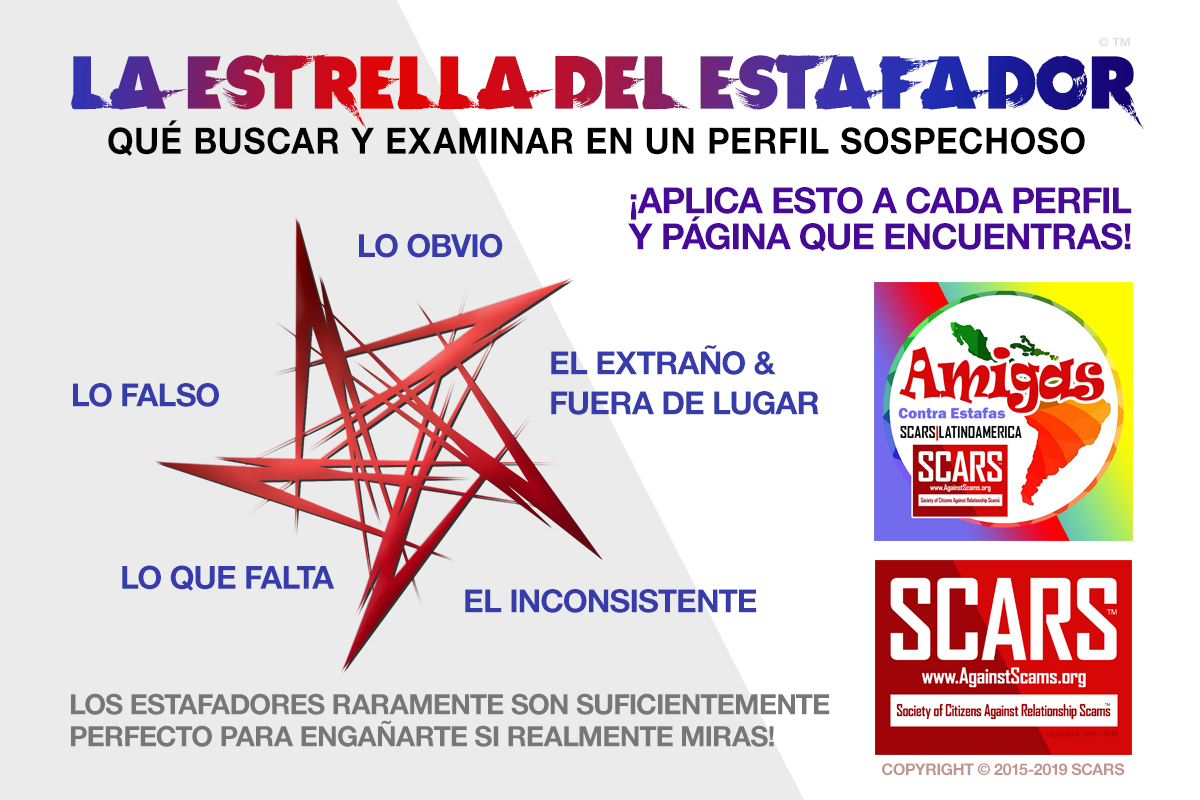 La Estrella Del Estafador - SCARS|RSN™ Anti-Scam Poster 6