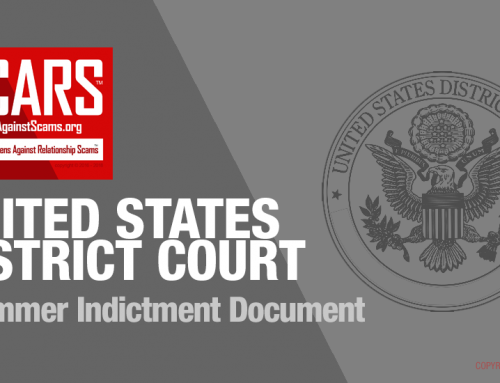 SCARS|EDUCATION™ Law Enforcement Action: The 80 Person Indictment Document