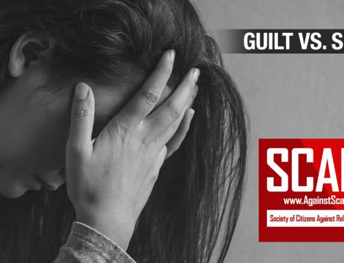 SCARS|RSN™ Psychology of Scams: Guilt vs. Shame! [Infographic]