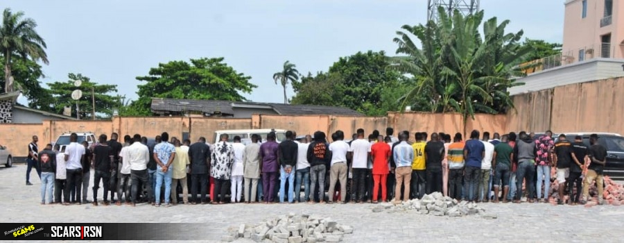 SCARS|RSN™ Scam News: Massive EFCC Arrest Of 94 Yahoo Yahoo Boys At Their Party 3