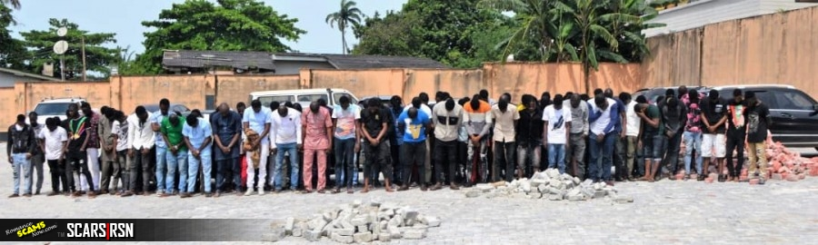 SCARS|RSN™ Scam News: Massive EFCC Arrest Of 94 Yahoo Yahoo Boys At Their Party 2